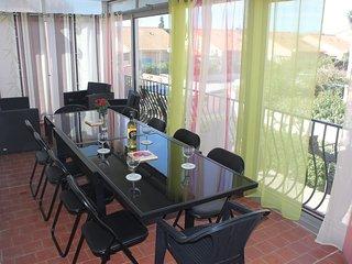 Stor lägenhet i villa nära stranden, Canet-Plage
