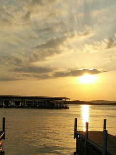 Beautiful Sunsets over Table Rock Lake