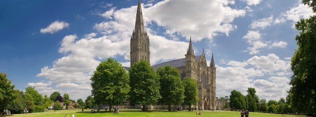 Stunning Salisbury Cathedral