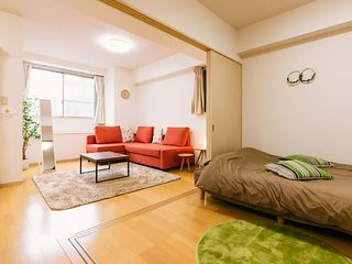 2 Bedroom Cozy Apartment w/ Free Pocket Wifi#NT5, Fukuoka