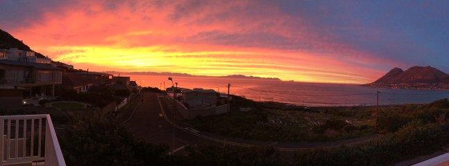 Sunrise over False Bay
