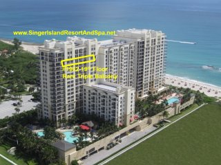 Condo-MarriottSingerIslandResortSpa-19thFl-RareTripleBalcony&DiningTable-WiFI TV, Isla de Singer