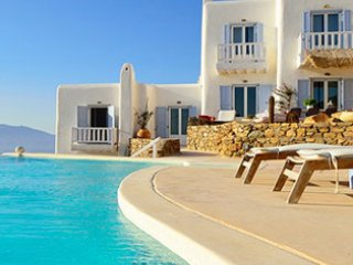 3 Bedroomed Complex Villa with Shared Pool&Sea view In Mykonos,Greece-247, Mykonos Town