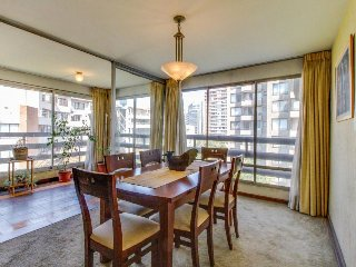 Spacious metropolitan condo with city views & great location!