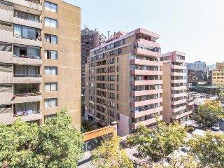 Spacious metropolitan condo with city views & great location!