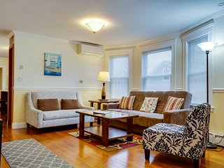 Beautifully updated condo near public transit, Boston College, & more!