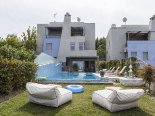 Luxury Pool Villa in Paliouri (3BD)