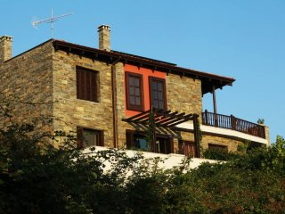 Epic Seaview Stone Villa, Parthenon