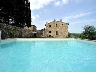 Villa Badia 5 bedrooms+5 bathrooms near the Chianti Classico wine production