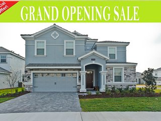 GRAND OPENING OFFER- 9Bed/5Bath Home in ChampionsGate be the First Ones!