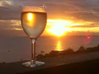 Carpe Diem Villa. Sunset 2. Studio apmt - amazing sea views even from the beds!