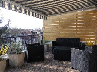 Appartement 70 m², 6 pers. proche centre ville DIJON et FACS. Grande terrasse., Dijon