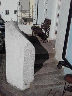 Patio outside fron door