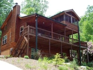 Black Ankle Mountain View Secluded,Hot Tub, Wifi,Aska Adventure,Lake Blue Ridge