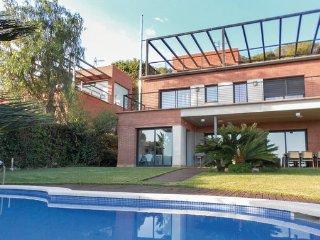 4 bedroom Villa in Castelldefels, Costa De Barcelona, Spain : ref 2303996