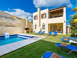 3 bedroom Villa in Rethymno, Crete, Greece : ref 5035404