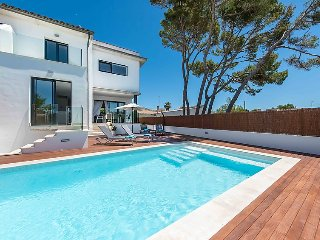 4 bedroom Villa in Can Picafort, Balearic Islands, Spain : ref 5036546