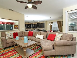 6 Bedroom 5 Bath Resort Pool Home with Spa. 2958BPD, Orlando