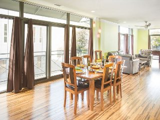 Stay Local in Savannah: Luxury downtown condo sleeps 14 Lucky guests!