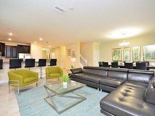 1455RFD. Huge 9 Bedroom ChampionsGate Home That Sleeps 19