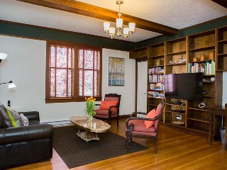 Historic full furnished unit in a 1904 home steps to Downtown