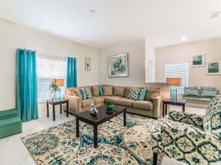 Stylish 5 Bed 4 Bath Pool Townhome in Storey Lake Resort. 3101PP