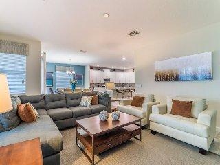 Inviting 6 Bedroom 5 Bath Pool Home in Storey Lake Resort. 4742SHD