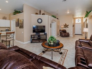 Lovely 4 Bed 3 Bath Pool Home in Windsor Palms Resort. 8062KPC