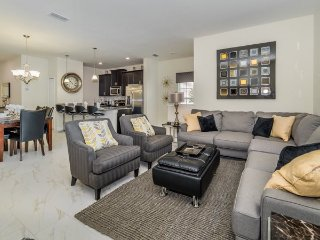 Modern 5 Bed 4 Bath Townhome with Pool in Storey Lake Resort. 3179PP