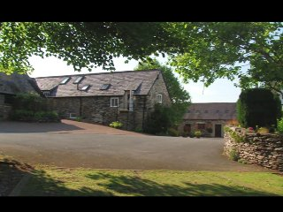 Y GILFACH at Bryn Melyn Farm Cottages (wood fired hot tub)