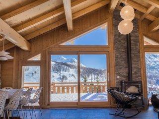 Chalet Vail Colorado Montgenevre - 20 personnes - Grandes terrasses plein Sud