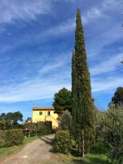 Casa Terra Bianca is on the ground floor of a traditional farm house