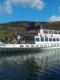 'Swan' is the largest boat on Windermere