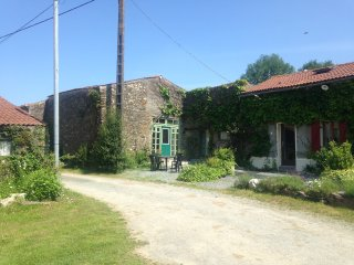 La Boule Gites are a picturesque getaway with fabulous inground heated Pool, Secondigny