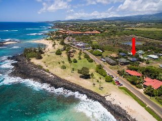 **SUNNY POIPU** 4 BEDROOM HOME ONLY STEPS TO THE BEACH  & AC  ***WOW***