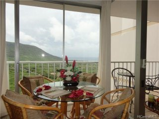 Fantastic 13 Floor Studio Condo, Views & Great Uncrowded Beaches on West side, Makaha