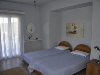Two large single beds connected