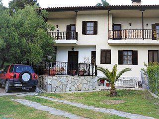 Villa MERI HOME near the beach Spathies Nikiti.