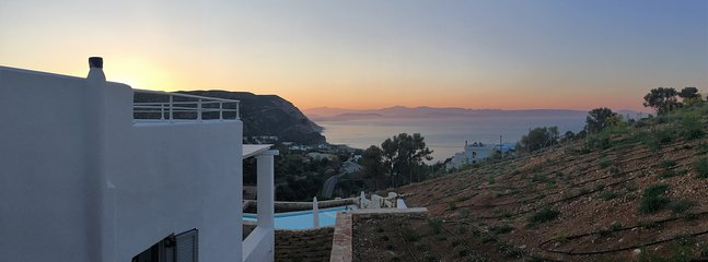 Morning Sunrise view from your studio terrace :)!