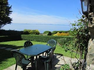 Sea view from the front garden!