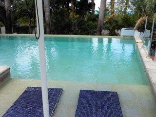 LES PALMIERS BLEUS (BLUE PALM)... Fabulous 4 BR villa, Tennis & Gym, Stay 7 nts