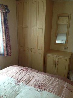 Main bedroom with double wardrobe