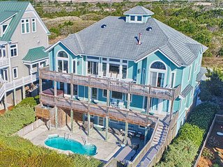Ocean View Ln 124 Oceanfront! | Private Heated Pool, Hot Tub, Elevator