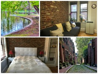 2BR w/ 3Beds Beacon Hill Boston Center by PARKS, CHARLES RIVER, FREEDOM TRAIL