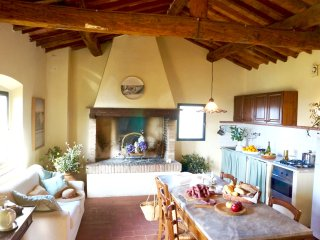 Lovely Farm Stay  - Terra Rossa - Stunning views - Pool - Authentic Tuscany, Palaia