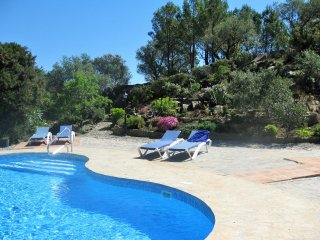 Exclusive Villa. Amazing Views+ 8 guests in Malaga Countryside.Private  pool.
