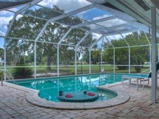 Sarasota golf course home/heated swimming pool