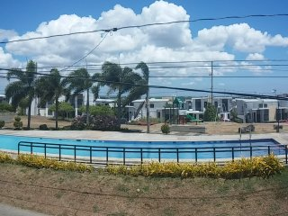 A & J GuestHouse infront of swimming pool, Calamba
