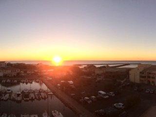 Vue panoramique face à la mer