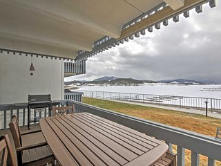 NEW! 2BR Dillon Condo w/ Mountain & Lake Views!